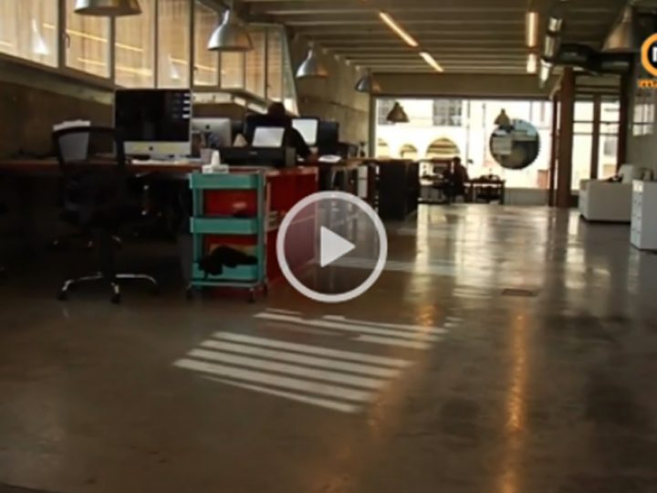 m1tv visita nuestro espacio de coworking en Mataró