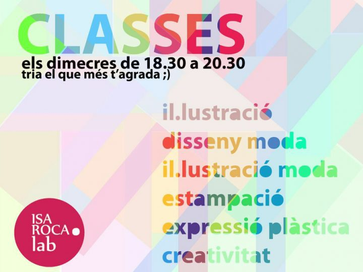 Classes de Isa Roca Lab