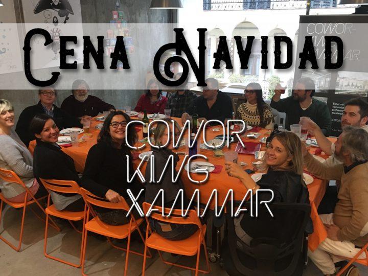 Cena Navidad 2017 – Coworking Xammar